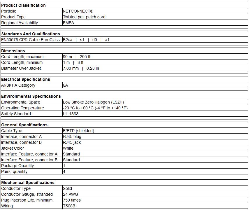 Ổ cắm mạng Cat6A - Modular jack Cat6A AMP/Commscope 2153449-2/4