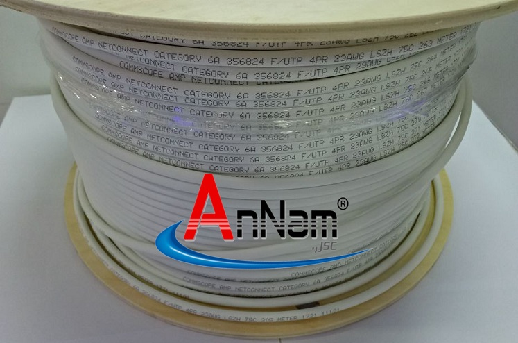 Cáp mạng COMMSCOPE/AMP Cat6A FTP PN 1859218-2