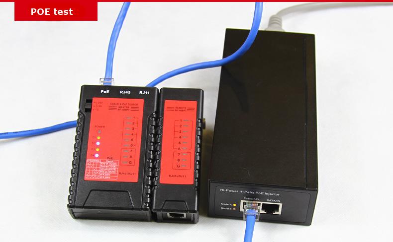 Máy test mạng POE NF-468PT