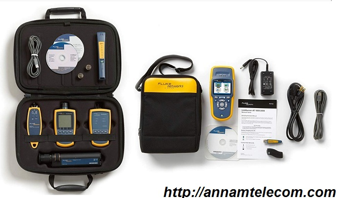 Fluke Networks LRAT-2000-KIT Linkrunner AT Extended Kit