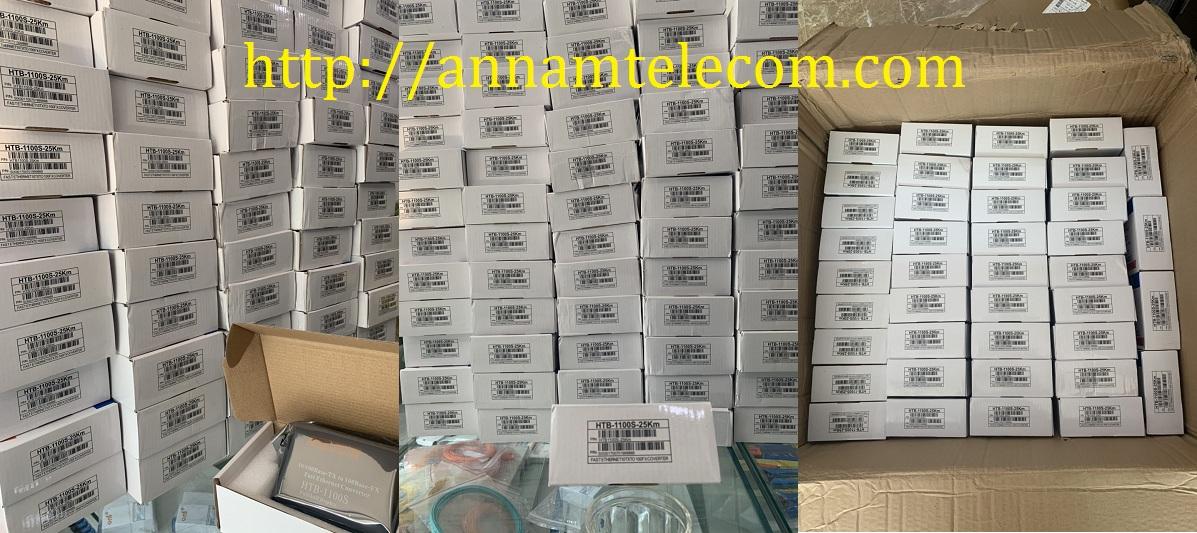 Bộ chuyển đổi 2 sợi Converter quang điện Netlink HTB-1100s 25km loại 10/100
