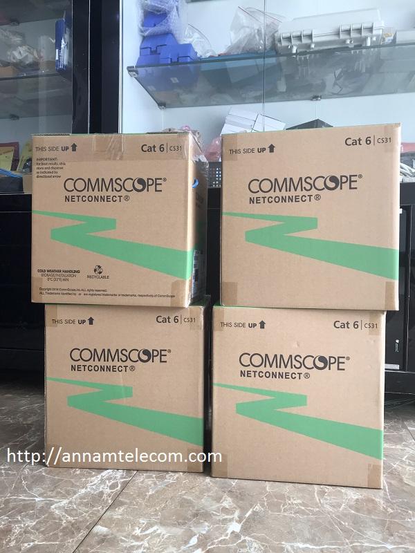 Cáp mạng Cat6 UTP CommScope mã 1427254-6