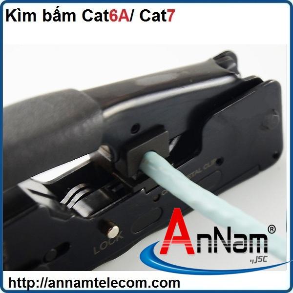 Phân phối dụng cụ làm mạng kìm bấm mạng chuyên dụng Cat6A/Cat7 hãng Shipuco