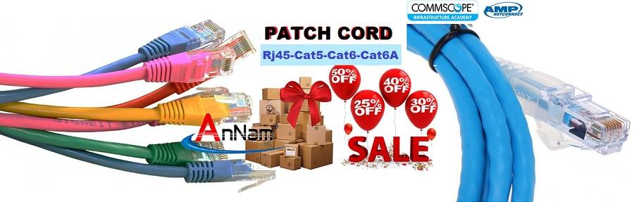 Dây nhảy Patch Cord Commscope Cat6 1.5m mã 1859247-5 - 8
