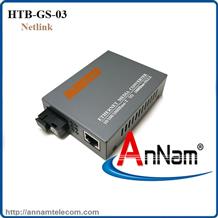 Bộ chuyển đổi 2 sợi Converter quang điện Netlink HTB-GS-03 loại 10/100/1000