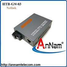 Bộ chuyển đổi Converter quang điện NETLINK HTB-GM-03 dùng cho dây Multy mode