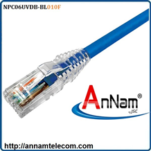 Dây nhảy patch cord AMP Cat6 10FT Blue (NPC06UVDB-BL010F)