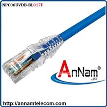 Dây nhảy patch cord AMP Cat6 17FT Blue (NPC06UVDB-BL017F)