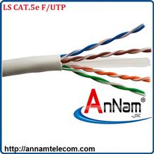 Cáp mạng 4 đôi LS CAT.5e F/UTP copper (FTP-E-C5G-E1VN-M 0.5X4P/GY,PVC, Grey)