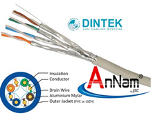 Cáp mạng Dintek CAT6 FTP