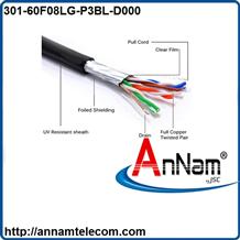 Cáp mạng ngoài trời cat6 FTP Alantek 301-60F08LG-P3BL-D000