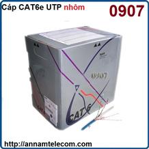 Cáp mạng UTP AMPP cat 6 mã 0907