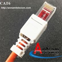 Nhân mạng Modul Jack Cat6 Commscope mã 1375055-1, màu trắng chân đồng - 21