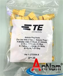 Đầu chụp mạng AMP Boot Modular Plug 272354-X (Red/Blue/Yellow)