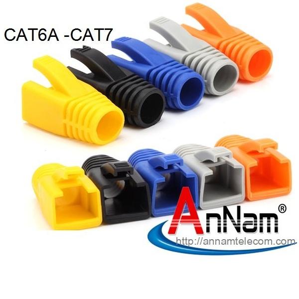 www.123nhanh.com: Bộ hộp Hạt mạng+ chụp Cat7/Cat6A chống nhiễu FTP có đuôi