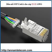Đầu nối STP Cat6A cho cáp 22-23 AWG