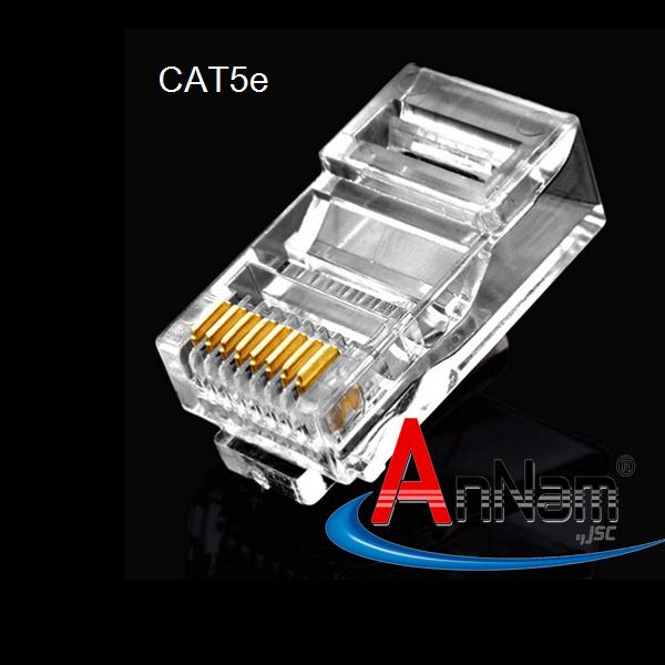 Hạt mạng RJ45 Cat5e Commscope/ AMP mã 5-554720-5 made in USA