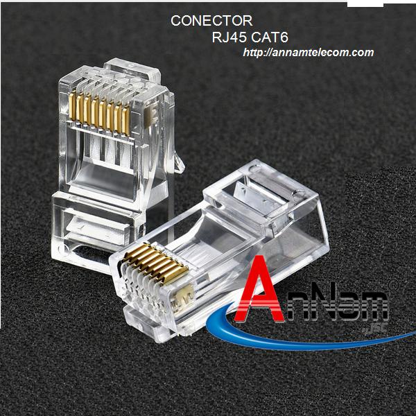 Hạt mạng RJ45 Cat6 Commscope/ AMP mã 5-554720-3