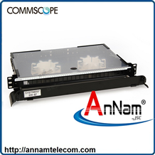Hộp cáp quang CommScope 760241652 Hộp 19 inch 12 cổng LC ports om3/om4, multimode, black- ODF