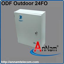 Hộp phối quang ODF 24Fo ngoài trời  đầy đủ phụ kiện