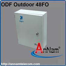 Hộp phối quang ODF 48Fo ngoài trời  đầy đủ phụ kiện