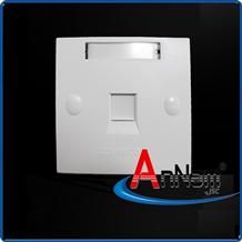 Mặt 1 Port Wallplate AMP Face Plate 1859049-1 mặt nạ vuông