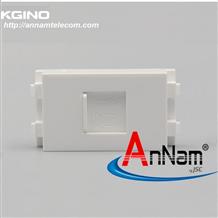 Modul ổ cắm mạng LAN Cat6 (lắp ổ cắm âm sàn)