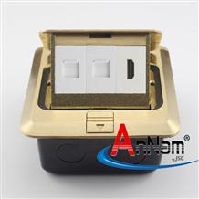 Ổ cắm âm sàn 3 cổng HDMI-LAN-LAN