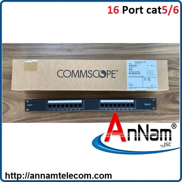 Patch panel 16 port Cat6 COMMSCOPE PN:1375014-6