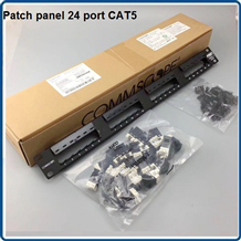 Patch panel 24 port Cat5e COMMSCOPE P/N: 1479154-2 MÃ CŨ
