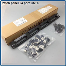 Patch panel 24 port CAT6 COMMSCOPE P/N: 1375014-2 MÃ CŨ