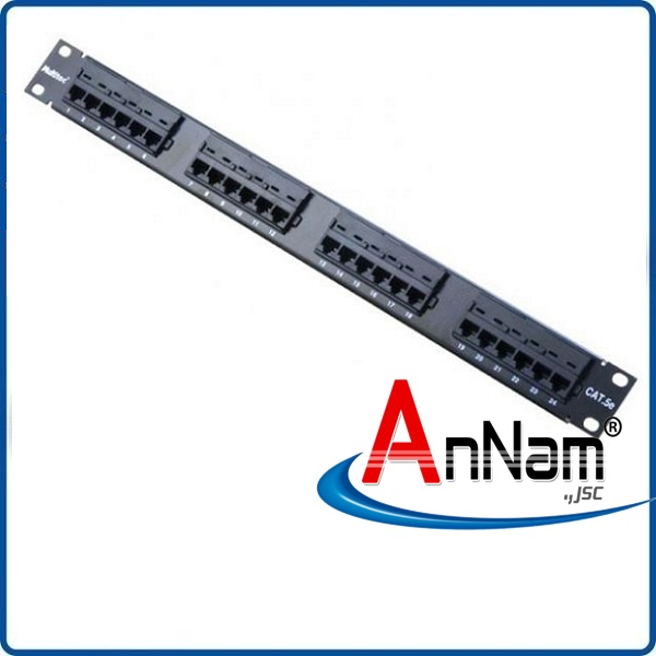 Patch panel 24 port Dintek CAT6