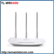 Router không dây chuẩn N 300Mbps TL-WR845N 3 ăng ten TP-LINK