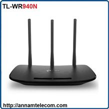 Router Wi-Fi Chuẩn N Tốc Độ 450Mbps TL-WR940N 3 ăng ten TP-LINK