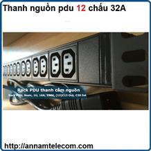 Thanh nguồn PDU 12 chấu 32A