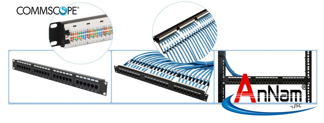 Patch panel AMP/Commscope
